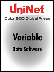 UniNet Variable Data Software for iColor 900