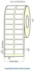 Epson TM-C3500 2x1 Matte Labels | Epson Media | 812010