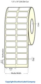 Epson TM-C3500 1.5x.75 Matte BOPP Label Roll | Epson Media | 814007