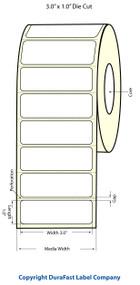 Epson TM-C3500 3x1 Matte BOPP Label Roll | Epson Media | 814013