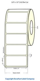 Epson TM-C3500 2x1 Matte BOPP Label Roll | Epson Media | 814026