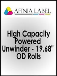 "Afinia DLP-2000 High Capacity Powered Unwinder for 19.68"" OD Rolls"