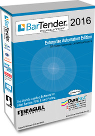 Seagull BarTender 2016 Enterprise Automation Edition with 70 Printer