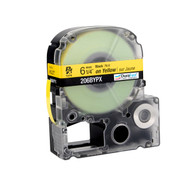 """Epson 206BYPX 1/4"""" Yellow Glossy Polyester Label PX Tape"""