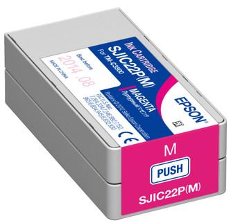 Epson TM-C3500 Magenta Ink Cartridge SJIC22P(M)