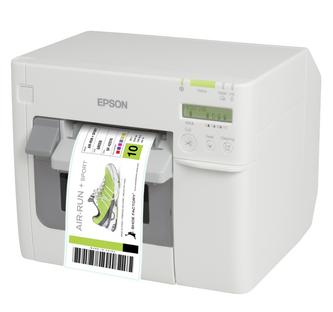 Epson ColorWorks TM-C3500 Color Label Printer for printing BS5609 certified GHS Labels