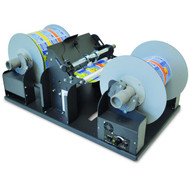 DPR label slitter and rewinder
