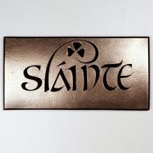 Sláinte Plaque by Wild Goose Studio