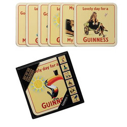 Guinness Toucan Coasters 6pk