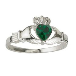Solvar May Birthstone Ring