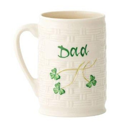 Belleek Dad Personalised Mug - 0766943032088