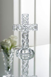 "Galway Crytsal 10.5"" Celtic Cross"