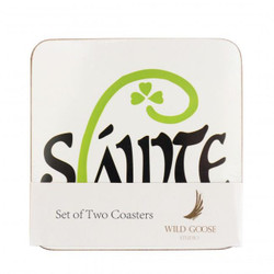 Slainte Coasters Pack of Two