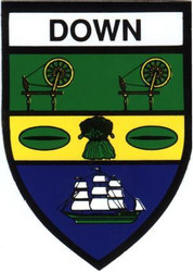 County Down Decal