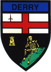 County Derry Decal