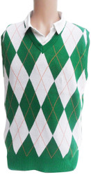 Irish Argyle Sweater Vest
