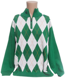 Irish Argyle Sweater
