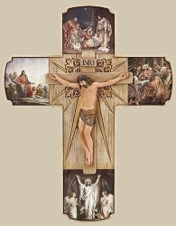 "12"" Life of Christ Crucifix"