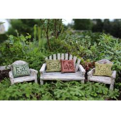 Fairy Garden Saying Pillow