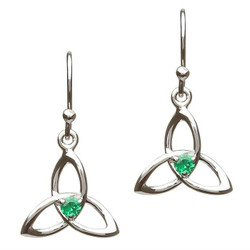 Celtic Trinity Knot Earrings