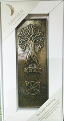 Family Gathering Bronze Plaque