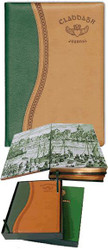 Tan/Green Claddagh Journal