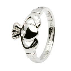 Ladies Claddagh Comfort fit Sil