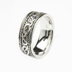 Men's Sterling Silver Celtic Ring