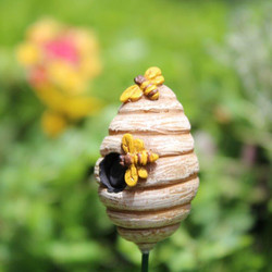 Fairy Garden Honey Beehive