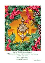 Cead Mile Failte Christmas Card - 0608866069850