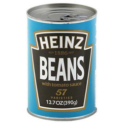 Heinz Beans with Tomato Sauce - 0789968000023