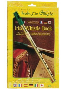 Walton's Irish Tin Whistle w/bo - 5390731015042