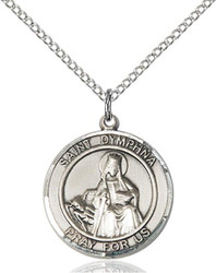 St. Dymphna Medal Pendant