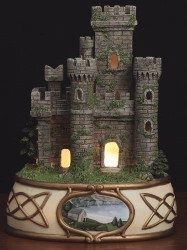 "7.5"" Lighted Irish Castle"