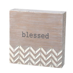 Blessed Plaque