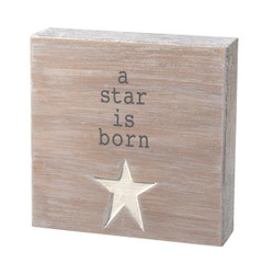 A Star Is Born Plaque