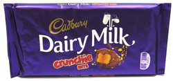 Cadbury DairyMilk Crunchies Bar