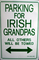 Parking for Irish Grandpas