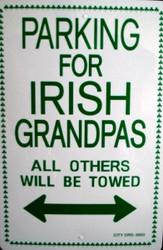 Parking for Irish Grandpas