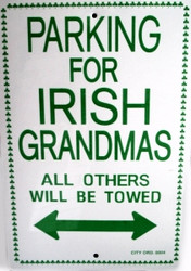 Parking for Irish Grandmas