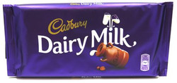 Cadbury Dairy Milk Chocolate Bar Large