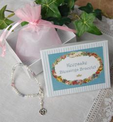 Blessings Keepsake Trinity Knot Bracelet -