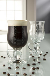 Galway Crystal Irish Coffee Mugs Set of 2