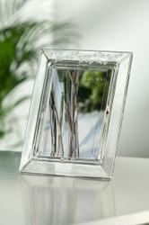 Galway Crystal Shamrock Frame 5x7