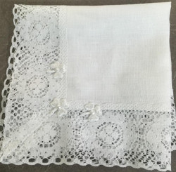 Linen and Lace Hankie