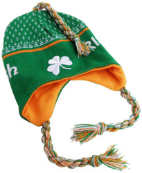 Irish Toboggan Knit Cap