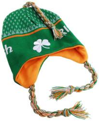 Irish Toboggan Knit Cap