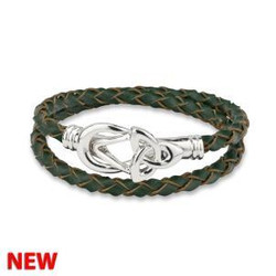 Wrap Around Trinity Knot Bracelet