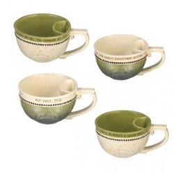 Teacup W/ Bag Holder