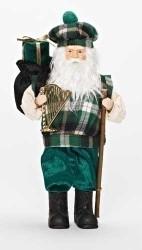 "12"" Irish Santa Figure - 0089945531879"